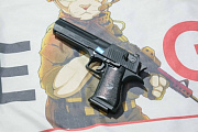 Cybergun Desert Eagle .50AE GAS Pistol - Black (by WE)